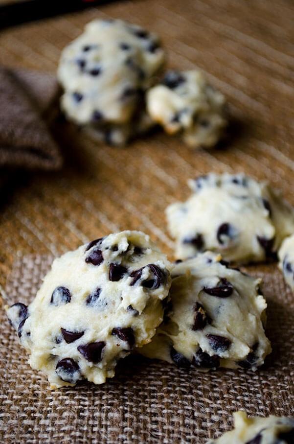 blueberry yogurt cookies recipe chocolate chip smores - 600×906
