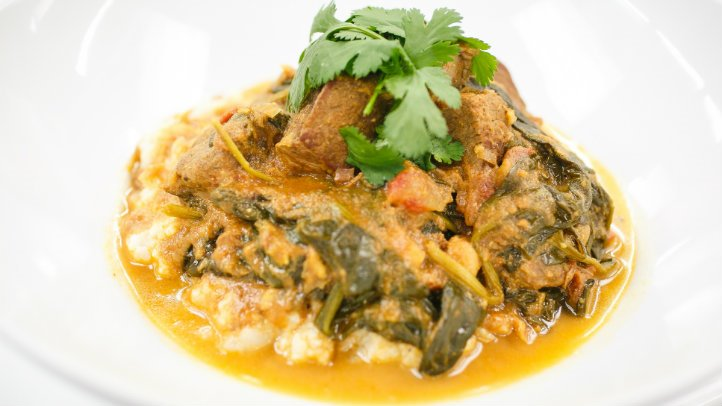 Lamb, Chickpea & Spinach Curry with Masala Mash - Yumii ...